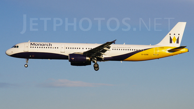 G-OZBI - Airbus A321-231 - Monarch Airlines