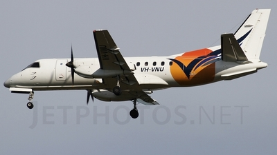 VH-VNU - Saab 340B - Vincent Aviation