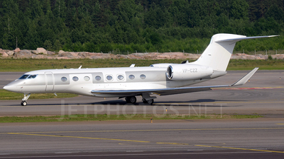 VP-CZZ - Gulfstream G650 - Private