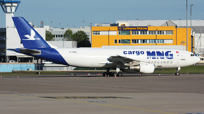 TC-MNU - Airbus A300B4-203(F) - MNG Airlines