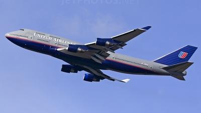 N187UA - Boeing 747-422 - United Airlines