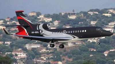PP-RFA - Dassault Falcon 7X - Jet Aviation Flight Service