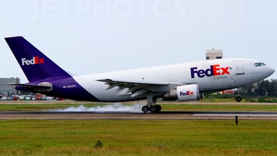 A picture of N453FE - Airbus A310222 - [267] - © AIRSHI