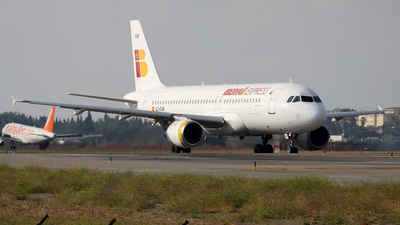 EC-FGR - Airbus A320-211 - Iberia Express