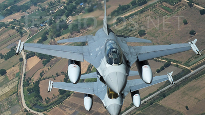 Kh19k-23/38 - General Dynamics F-16B Fighting Falcon - Thailand - Royal Thai Air Force