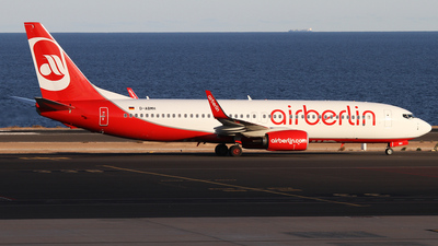 D-ABMH - Boeing 737-86J - Air Berlin