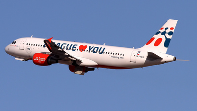 OK-HCA - Airbus A320-214 - Holidays Czech Airlines