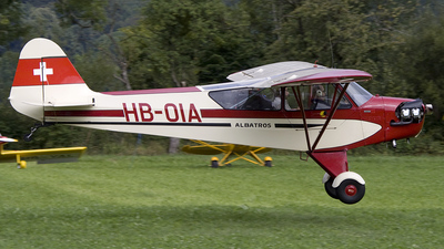 HB-OIA - Piper J-3C-65 Cub - Fluggruppe Albatros