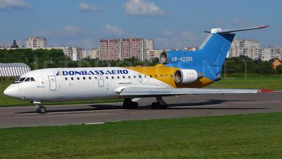 UR-42366 - Yakovlev Yak-42D - Donbassaero