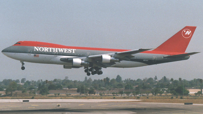 N634US - Boeing 747-227B - Northwest Airlines