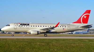 N634CZ - Embraer 170-200LR - Northwest Airlink (Compass Airlines)