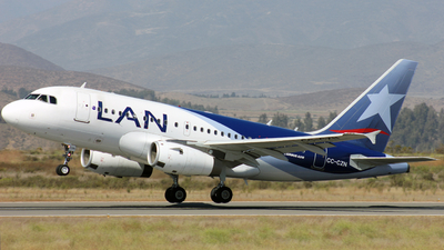 CC-CZN - Airbus A318-121 - LAN Airlines