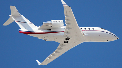 N548LF - Bombardier CL-600-2B16 Challenger 605 - Global Flight