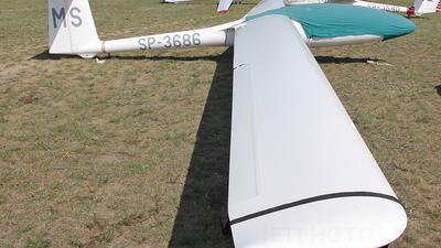SP-3686 - SZD 48 Jantar Standard 2 - Aero Club - Ziemi Mazowieckiej