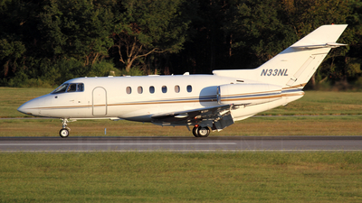 N33NL - Raytheon Hawker 800XP - Private