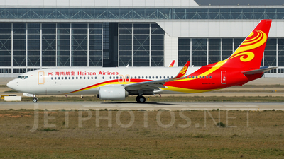 B-1903 - Boeing 737-86J - Hainan Airlines