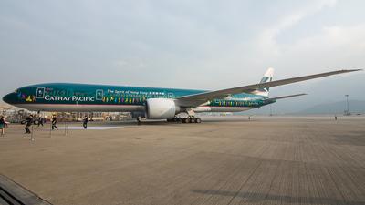 B-KPB - Boeing 777-367ER - Cathay Pacific Airways