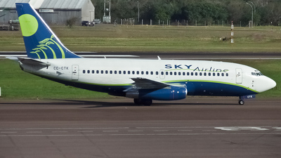 CC-CTK - Boeing 737-230(Adv) - Sky Airline