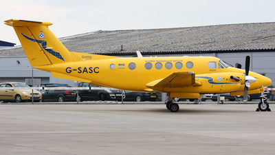 G-SASC - Beechcraft B200 Super King Air - Gama Aviation