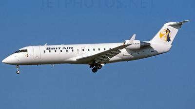 F-GRJF - Bombardier CRJ-100ER - Brit Air