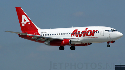 YV495T - Boeing 737-2Y5(Adv) - Avior Airlines