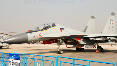 SB114 - Sukhoi Su-30MKI - India - Air Force