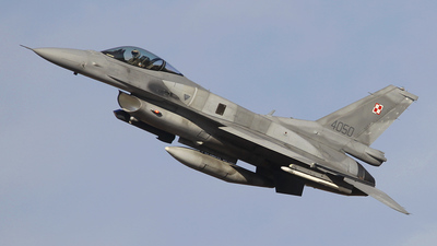 4050 - Lockheed Martin F-16C Fighting Falcon - Poland - Air Force