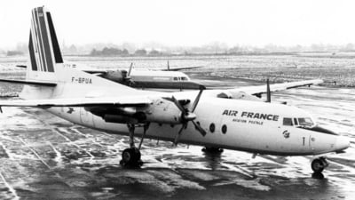 F-BPUA - Fokker F27-500F Friendship - Air France
