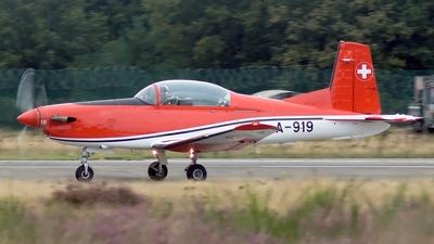 A-919 - Pilatus PC-7 - Switzerland - Air Force