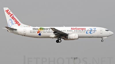 EC-HGO - Boeing 737-85P - Air Europa