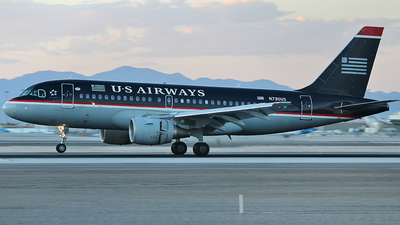 N730US - Airbus A319-112 - US Airways
