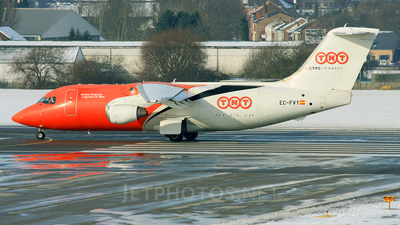 EC-FVY - British Aerospace BAe 146-200(QT) - TNT Airways (Pan Air Líneas Aéreas)