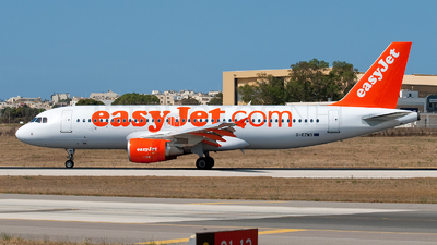 G-EZWD - Airbus A320-214 - easyJet