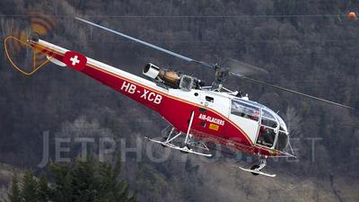 HB-XCB - Aérospatiale SA 316B Alouette III - Air-Glaciers