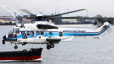 JA688A - Eurocopter EC 225LP Super Puma II+ - Japan - Coast Guard