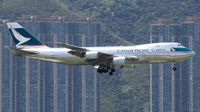 B-HIH - Boeing 747-267B(SF) - Cathay Pacific Cargo