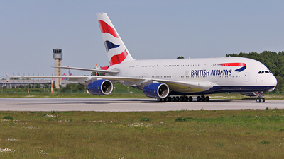 F-WWAY - Airbus A380-841 - British Airways