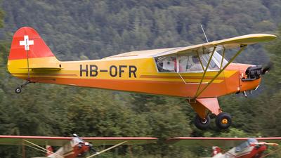 A picture of HBOFR - Piper J3C65 Cub - [13285] - © Kurt Greul