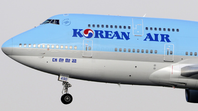 HL7490 - Boeing 747-4B5 - Korean Air