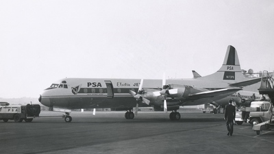 N173PS - Lockheed L-188C Electra - Pacific Southwest Airlines (PSA)