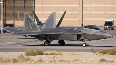 00-4012 - Lockheed Martin F/A-22A Raptor - United States - US Air Force (USAF)