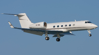 VP-BSA - Gulfstream G450 - Shell Aviation