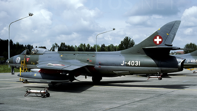 J-4031 - Hawker Hunter F.58 - Switzerland - Air Force