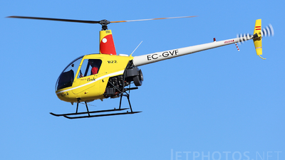 EC-GVF - Robinson R22 Beta II - Aerolink Air Services