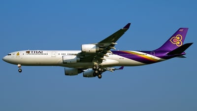 HS-TLB - Airbus A340-541 - Thai Airways International