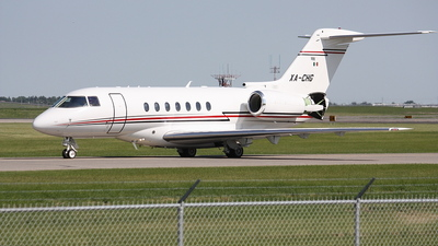 XA-CHG - Raytheon Hawker 800XP - Private