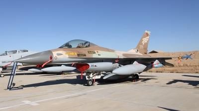 255 - General Dynamics F-16A Netz - Israel - Air Force