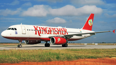 VT-KFC - Airbus A320-232 - Kingfisher Airlines