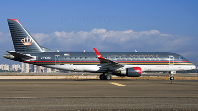 JY-EMD - Embraer 170-200LR - Royal Jordanian