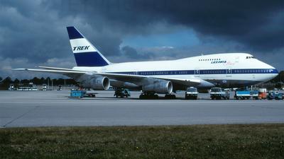 ZS-SPB - Boeing 747SP-44 - Trek Airways